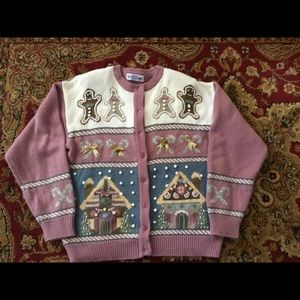 Gingerbread Christmas Sweater.